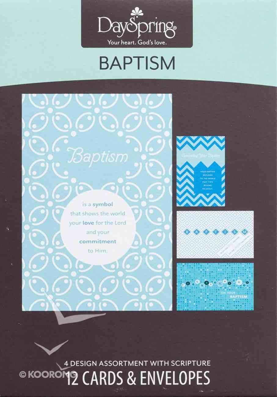 Boxed Cards Baptism: Baptism Box
