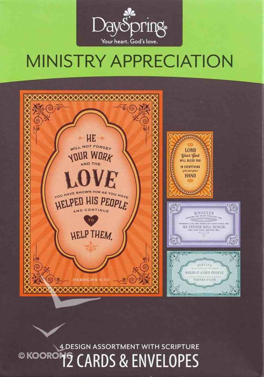 Boxed Cards: Ministry Appreciation Box