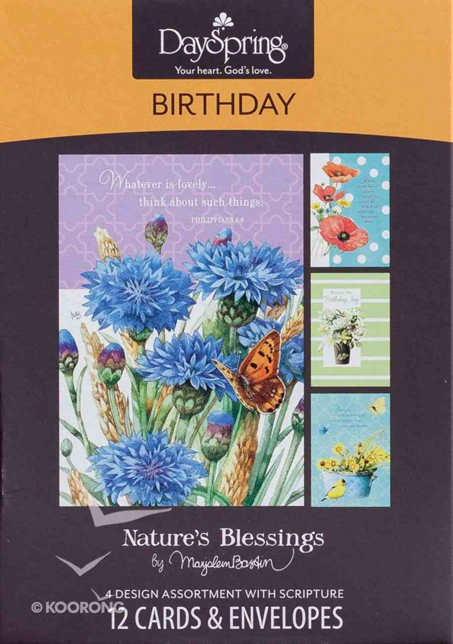 Boxed Cards Birthday: Nature's Blessings By Marjolein Bastin Box