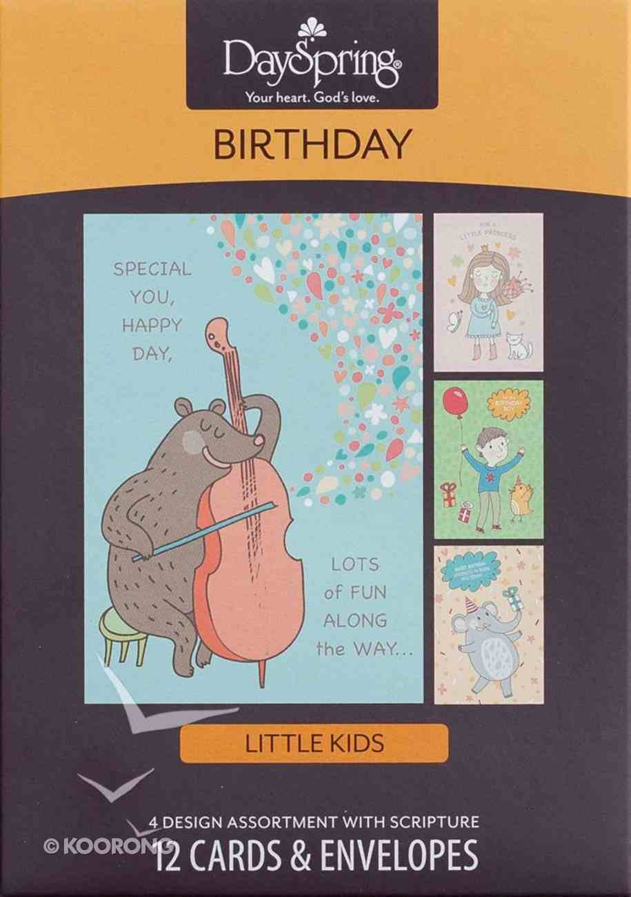 Boxed Cards Birthday: Special You, Special Day Box