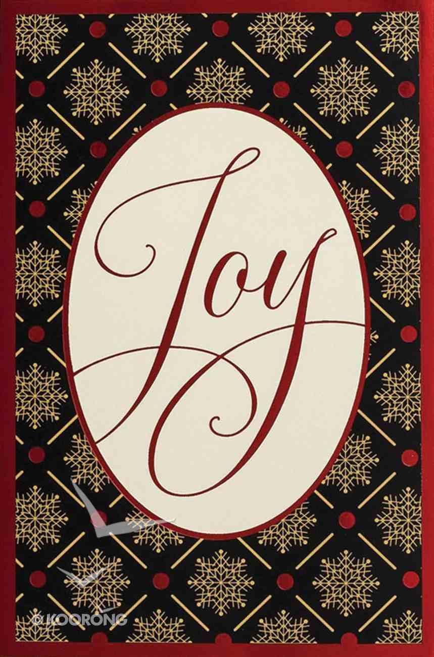 Christmas Premium Boxed Cards: Joy (Luke 2:14 Kjv) Box