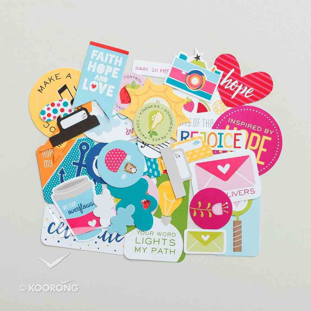 Encouragement (Illustrated Faith Die Cut Prompts Series) Novelty