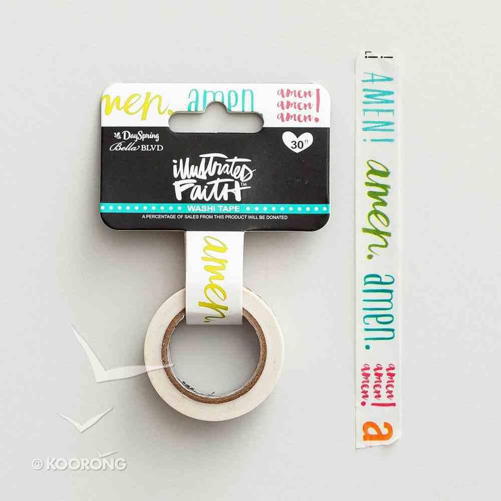 Amen (Illustrated Faith Washi Tape Series) Novelty