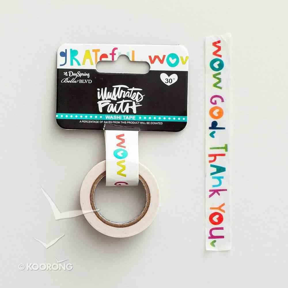 Wow God (Illustrated Faith Washi Tape Series) Novelty