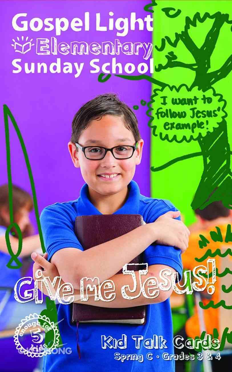 Gllw Springc 2018 Grades 3&4 Kids Talk Cards (5 Packs For 5 Kids) (Gospel Light Living Word Series) Pack