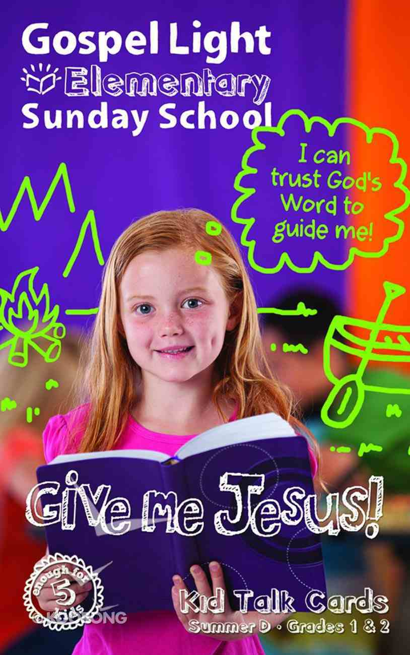 Gllw Summerd 2019/2020 Grades 1&2 Kids Talk Cards (5 Pack) (Gospel Light Living Word Series) Paperback