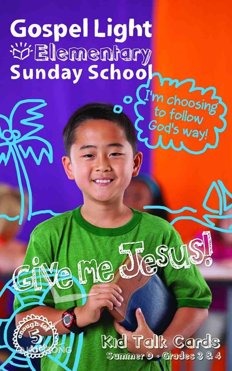 Gllw Summerd 2019/2020 Grades 3&4 Kids Talk Cards (5 Pack) (Gospel Light Living Word Series) Pack