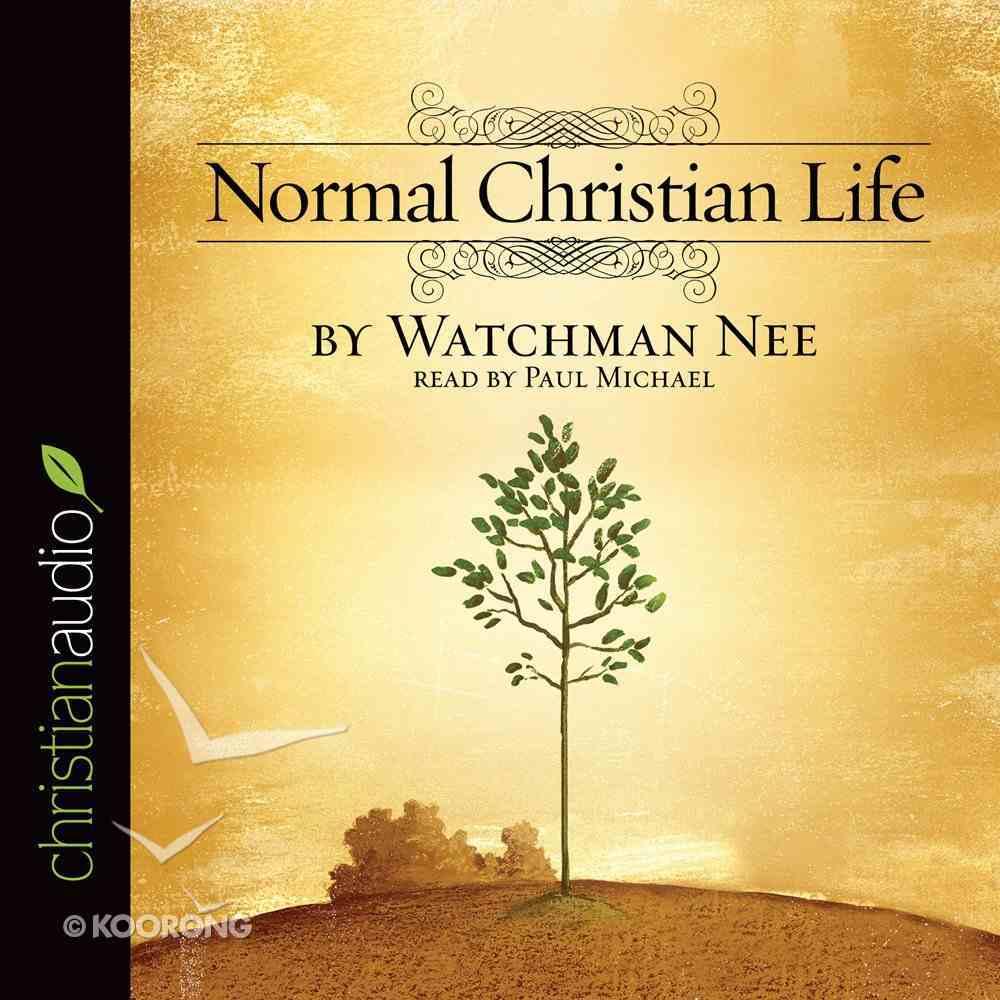 The Normal Christian Life CD