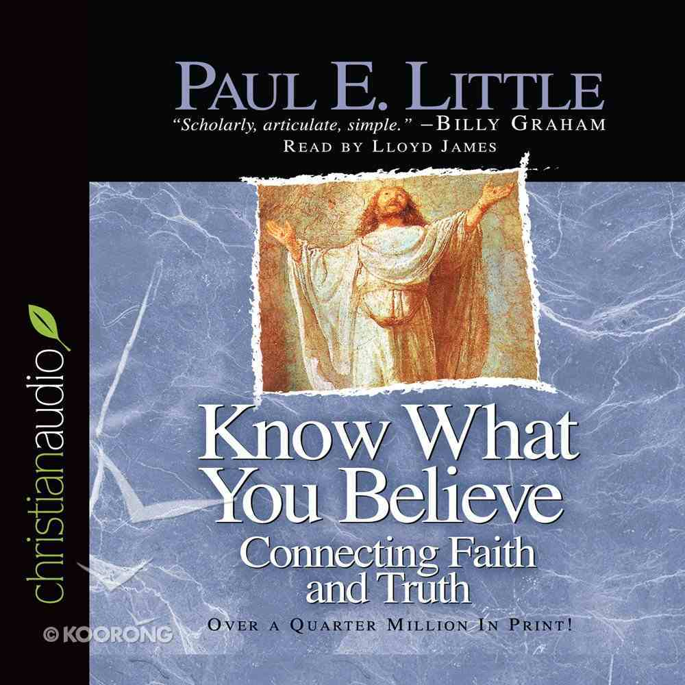 Know What You Believe CD