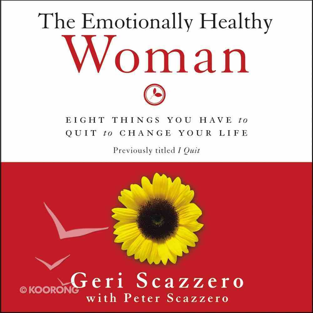 The Emotionally Healthy Woman eAudio Book