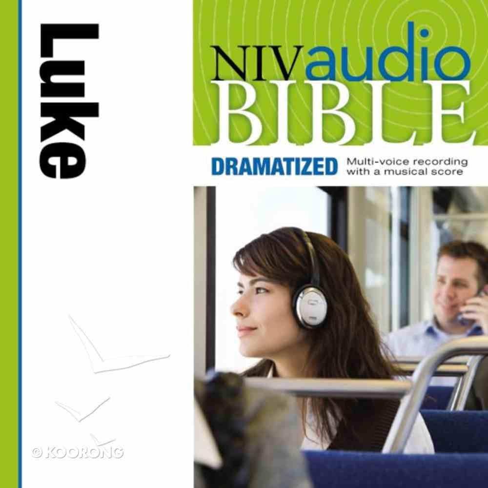 NIV, Audio Bible, Dramatized: Luke, Audio eAudio Book