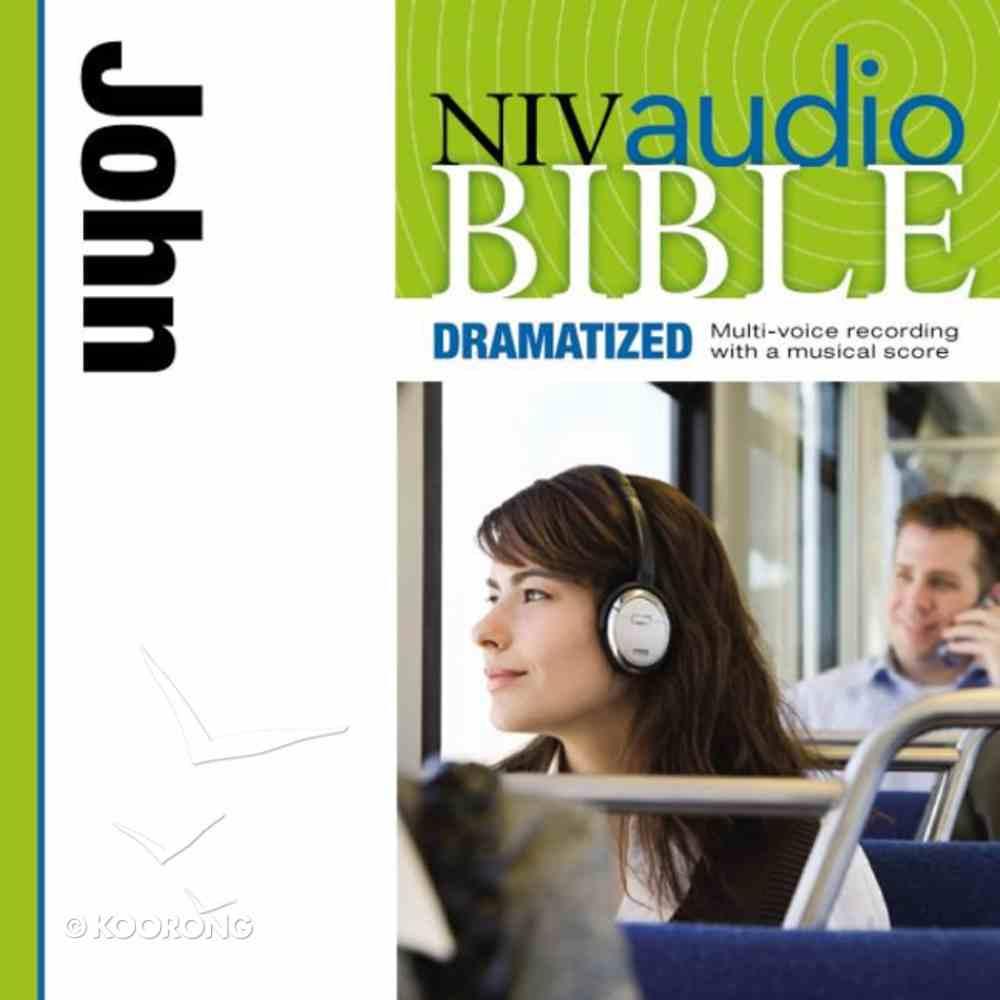 NIV, Audio Bible, Dramatized: John, Audio eAudio Book