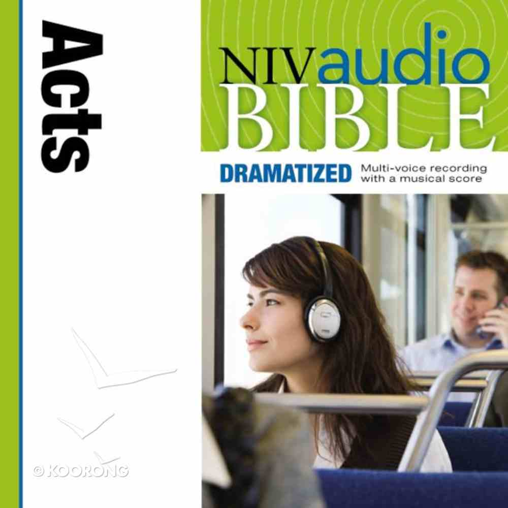 NIV, Audio Bible, Dramatized: Acts, Audio eAudio Book