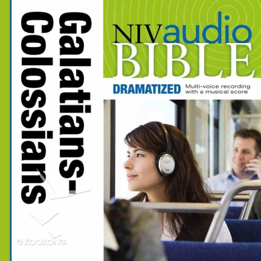 NIV, Audio Bible, Dramatized: Galatians, Ephesians, Philippians, and Colossians, Audio eAudio Book