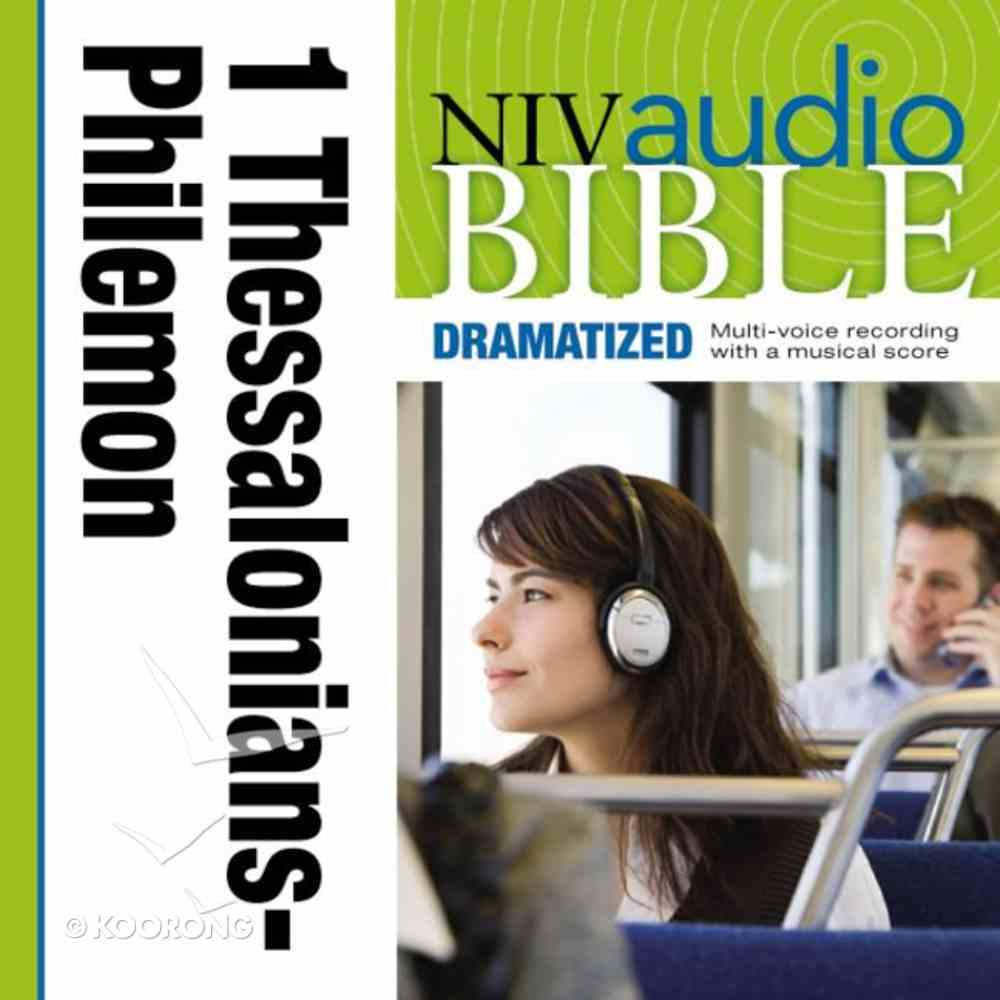 NIV, Audio Bible, Dramatized: 1 and 2 Thessalonians, 1 and 2 Timothy, Titus, and Philemon, Audio eAudio Book