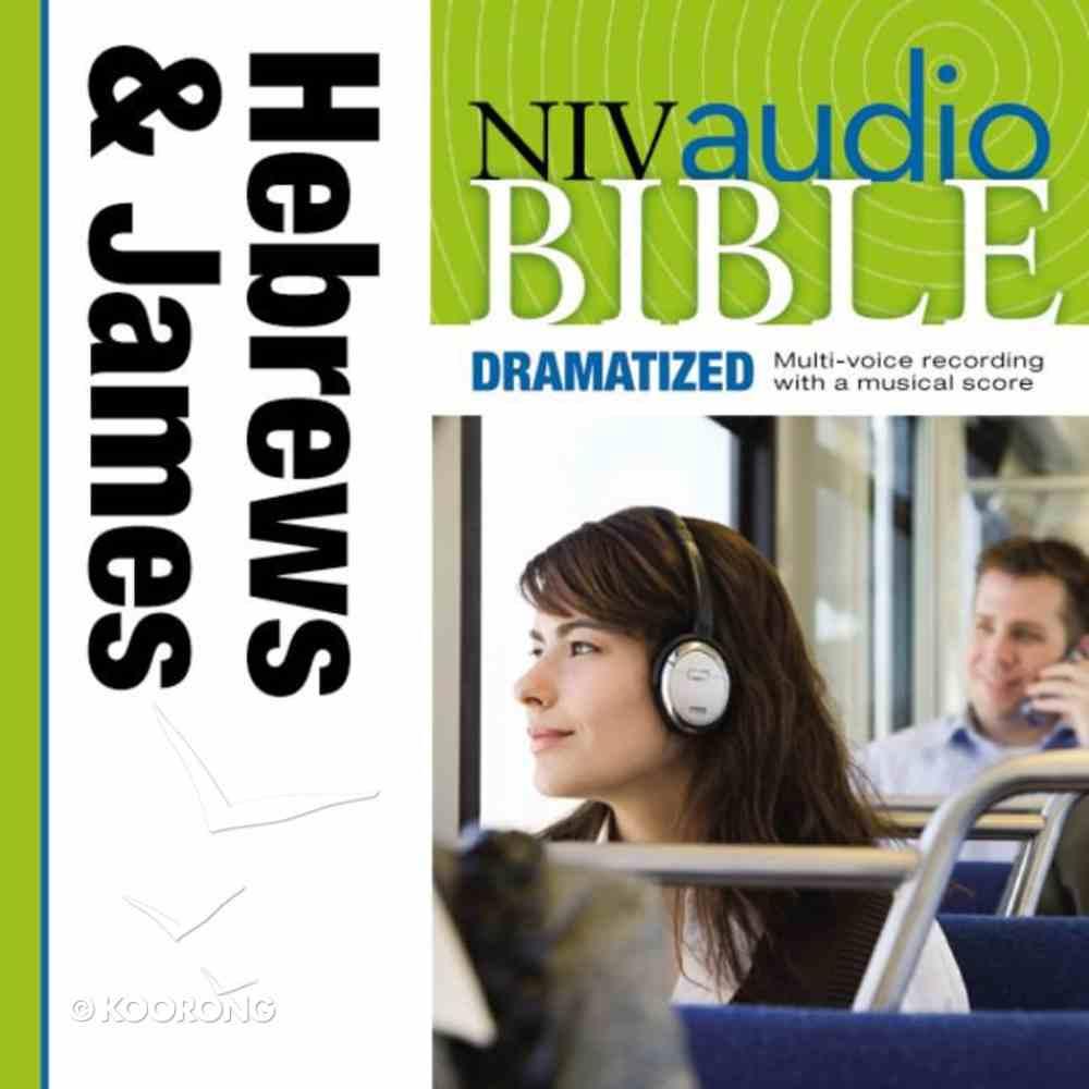 NIV, Audio Bible, Dramatized: Hebrews and James, Audio eAudio Book
