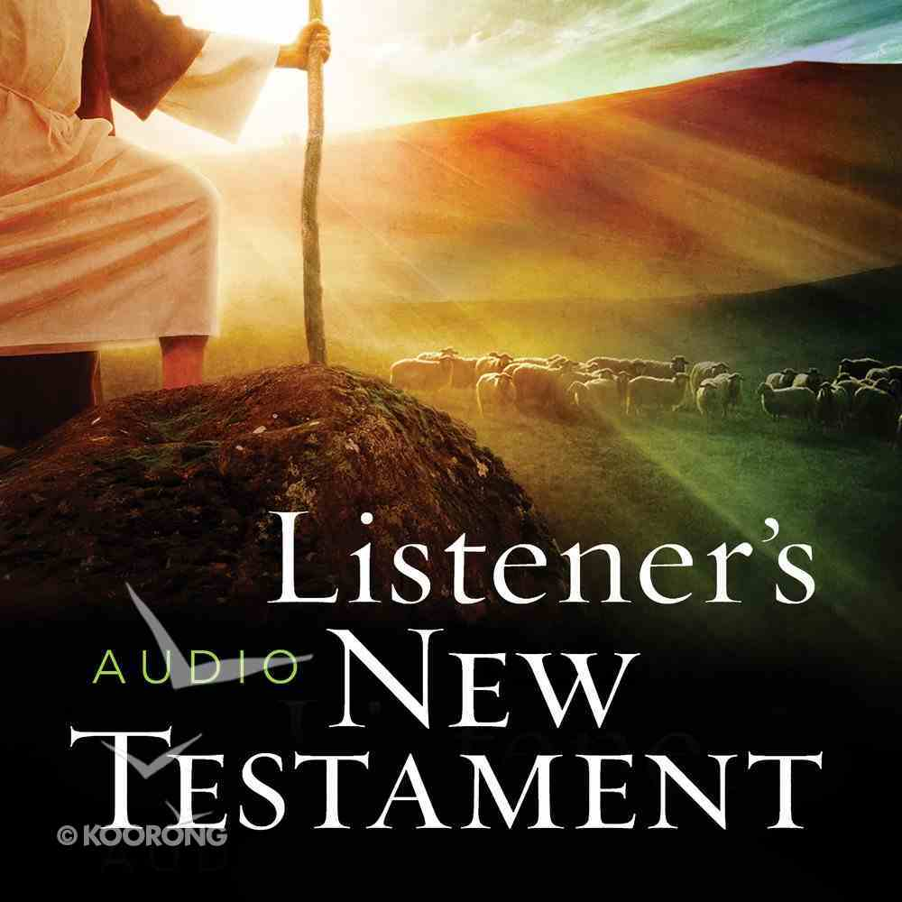The KJV Listener's Audio Bible, New Testament eAudio Book