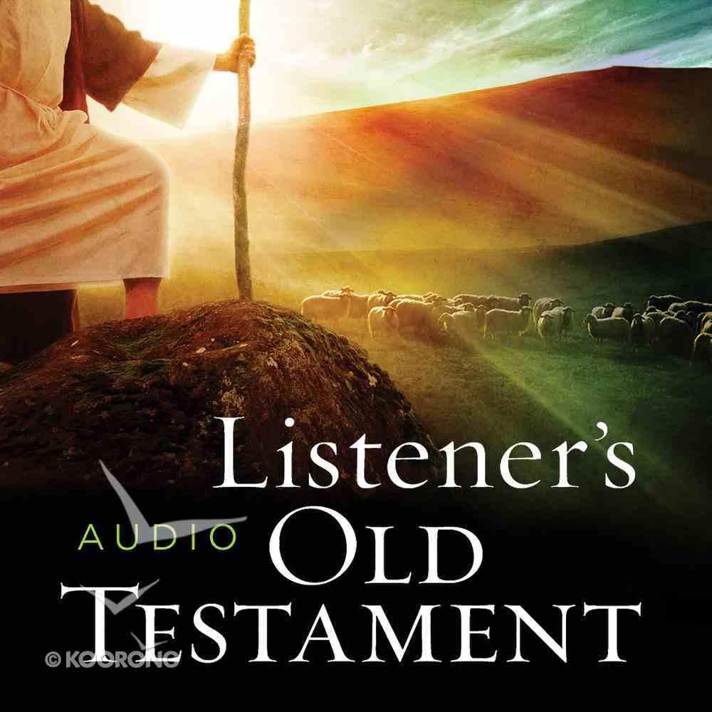 The KJV Listener's Audio Bible, Old Testament eAudio Book