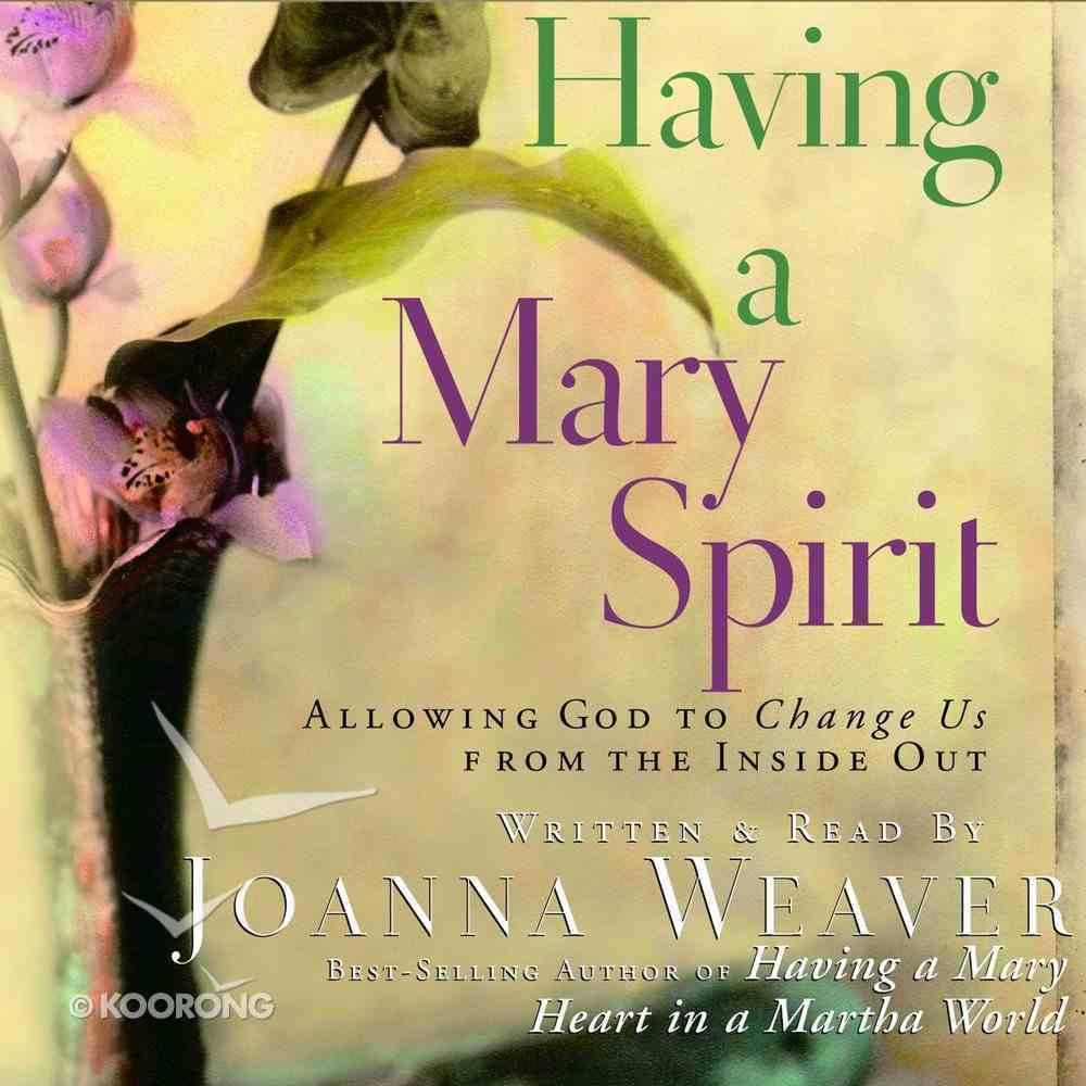 Having a Mary Spirit eAudio Book