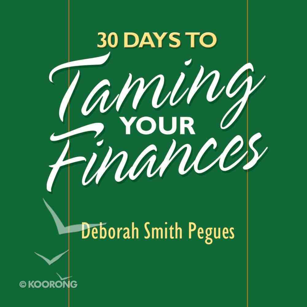 30 Days to Taming Your Finances eAudio Book