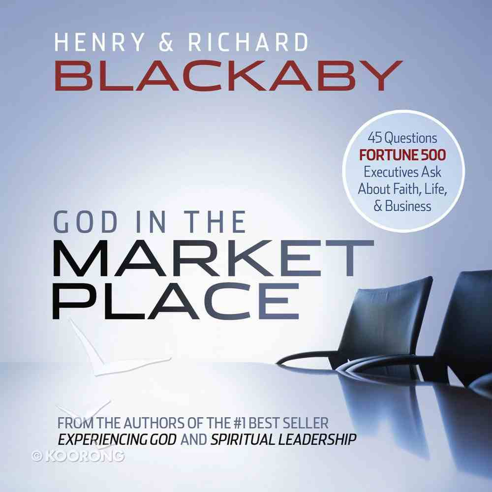 God in the Marketplace eAudio Book
