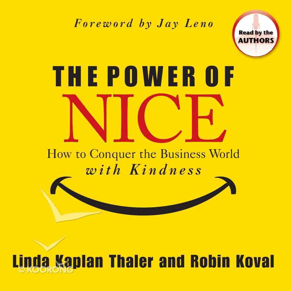 The Power of Nice eAudio Book