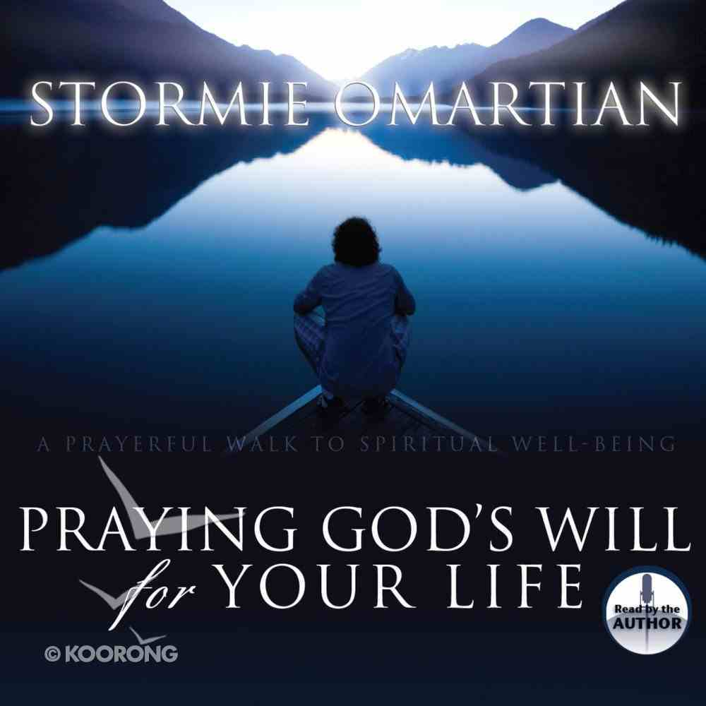 Praying God's Will For Your Life eAudio Book