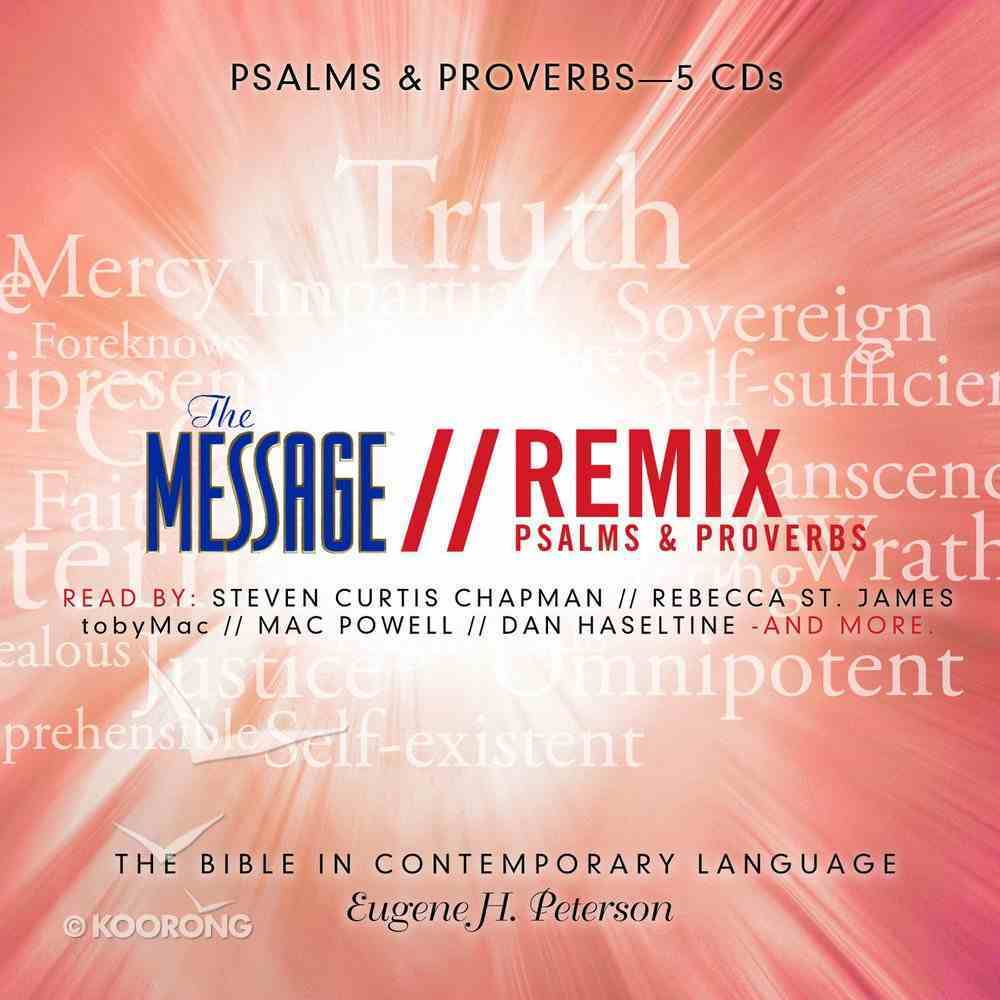 The Message Bible Remix Psalms & Proverbs eAudio Book