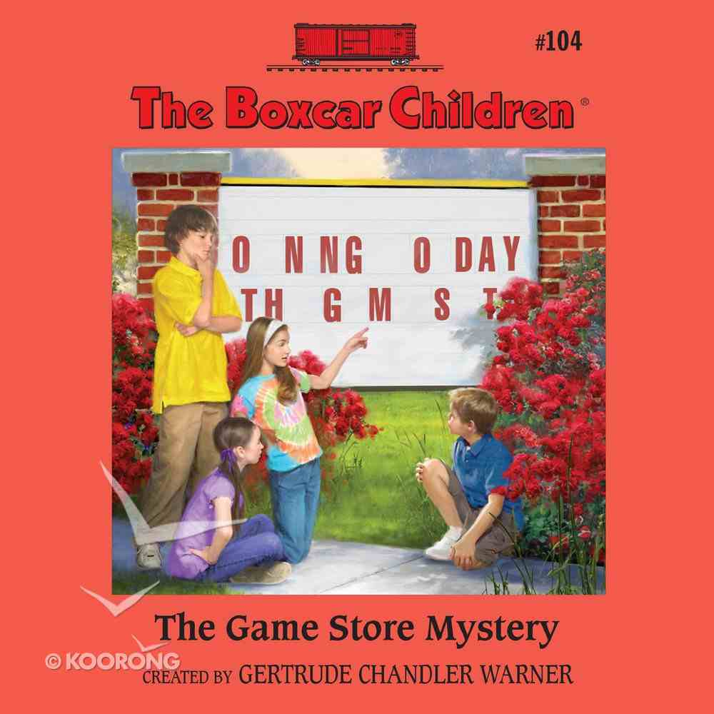 The Game Store Mystery (#104 in Boxcar Children Audio Series) eAudio Book