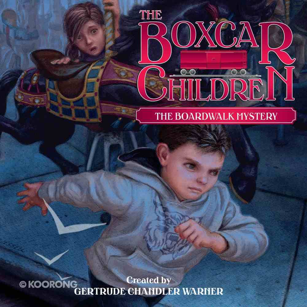 The Boardwalk Mystery (#131 in Boxcar Children Audio Download Series) eAudio Book