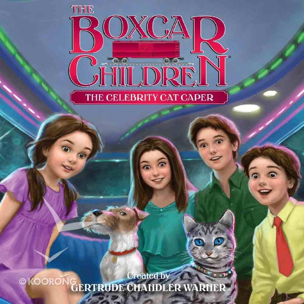 The Celebrity Cat Caper (#143 in Boxcar Children Audio Download Series) eAudio Book