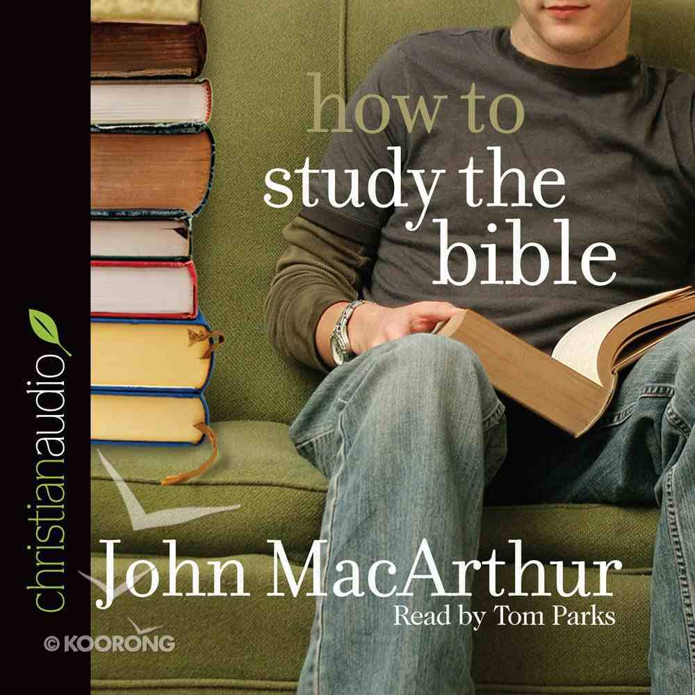 How to Study the Bible eAudio Book