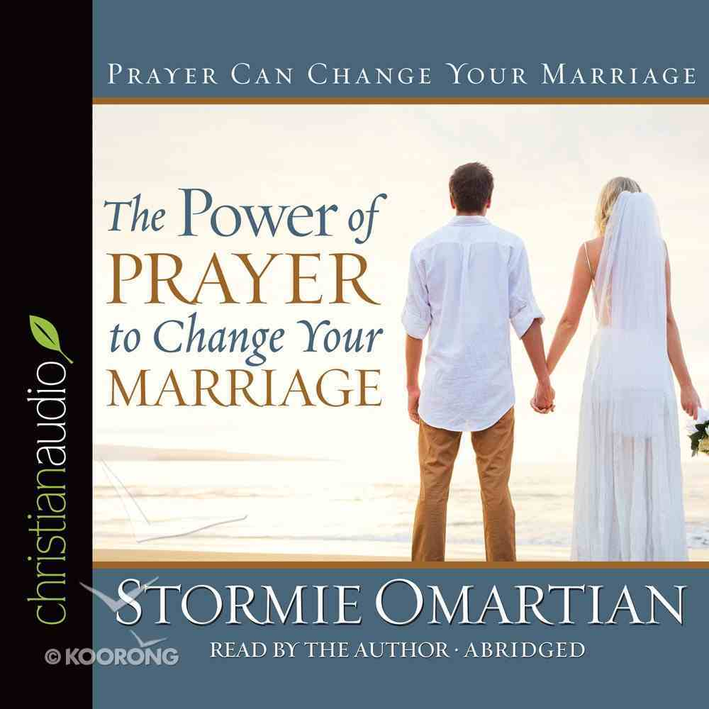 The Power of Prayer to Change Your Marriage (Abridged, 3 Cds) CD