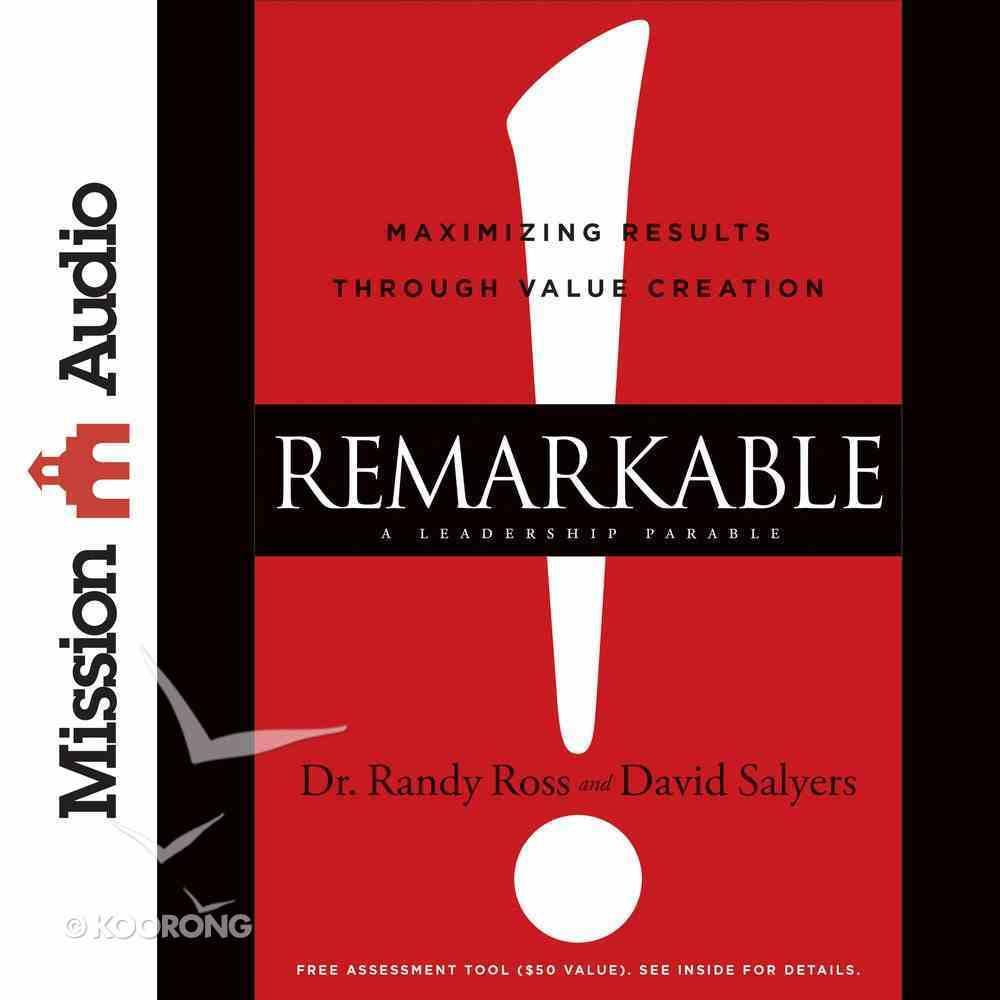 Remarkable! eAudio Book