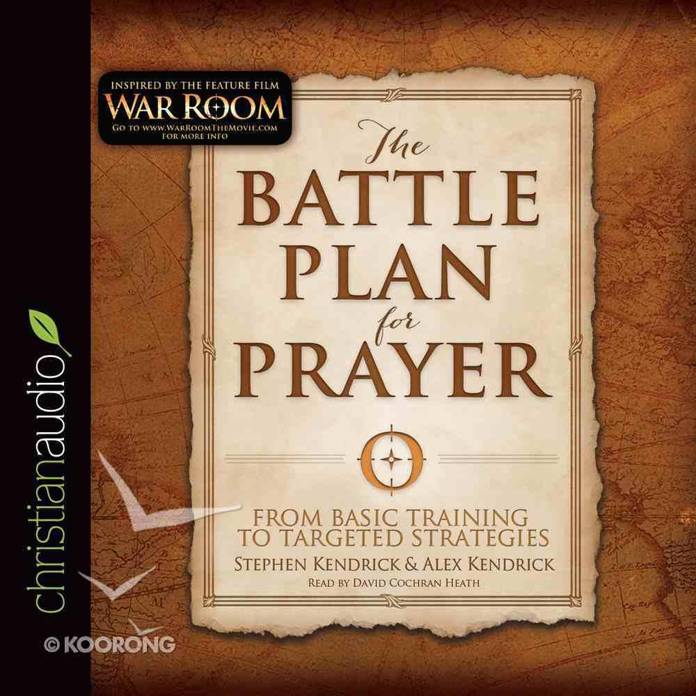 The Battle Plan For Prayer (Unabridged, 5 Cds) CD