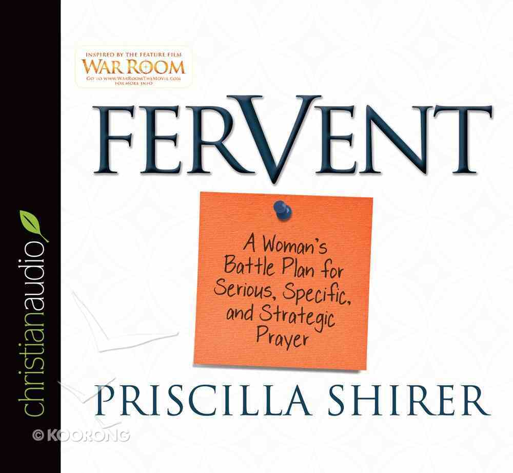 Fervent (Unabridged, 4 Cds) CD