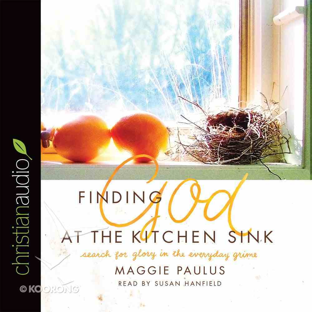 Finding God At the Kitchen Sink eAudio Book