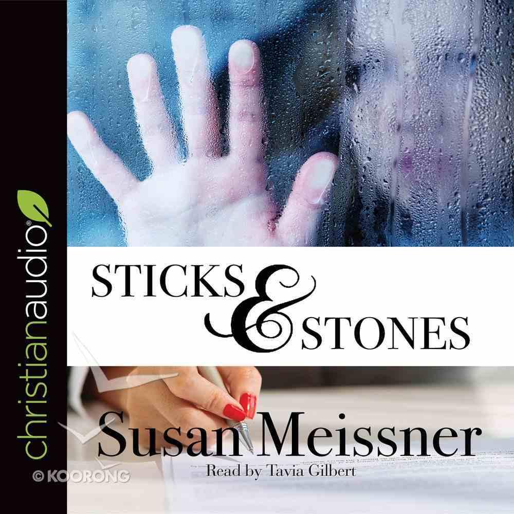Sticks & Stones (Unabridged, 10 CDS) (#02 in Rachael Flynn Audio Series) CD