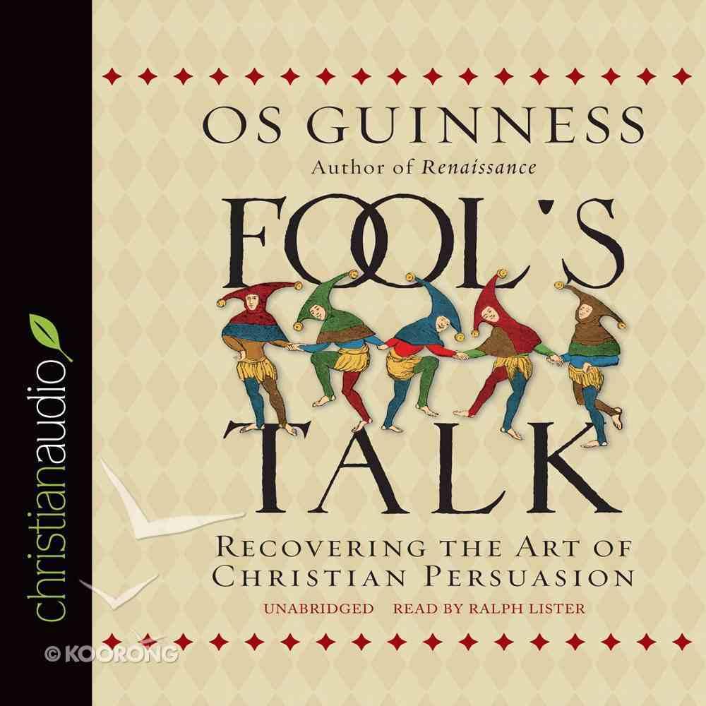 Fool's Talk (Unabridged, 9 Cds) CD