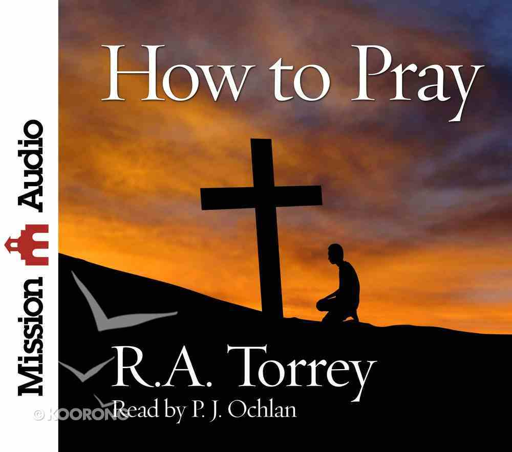 How to Pray eAudio Book