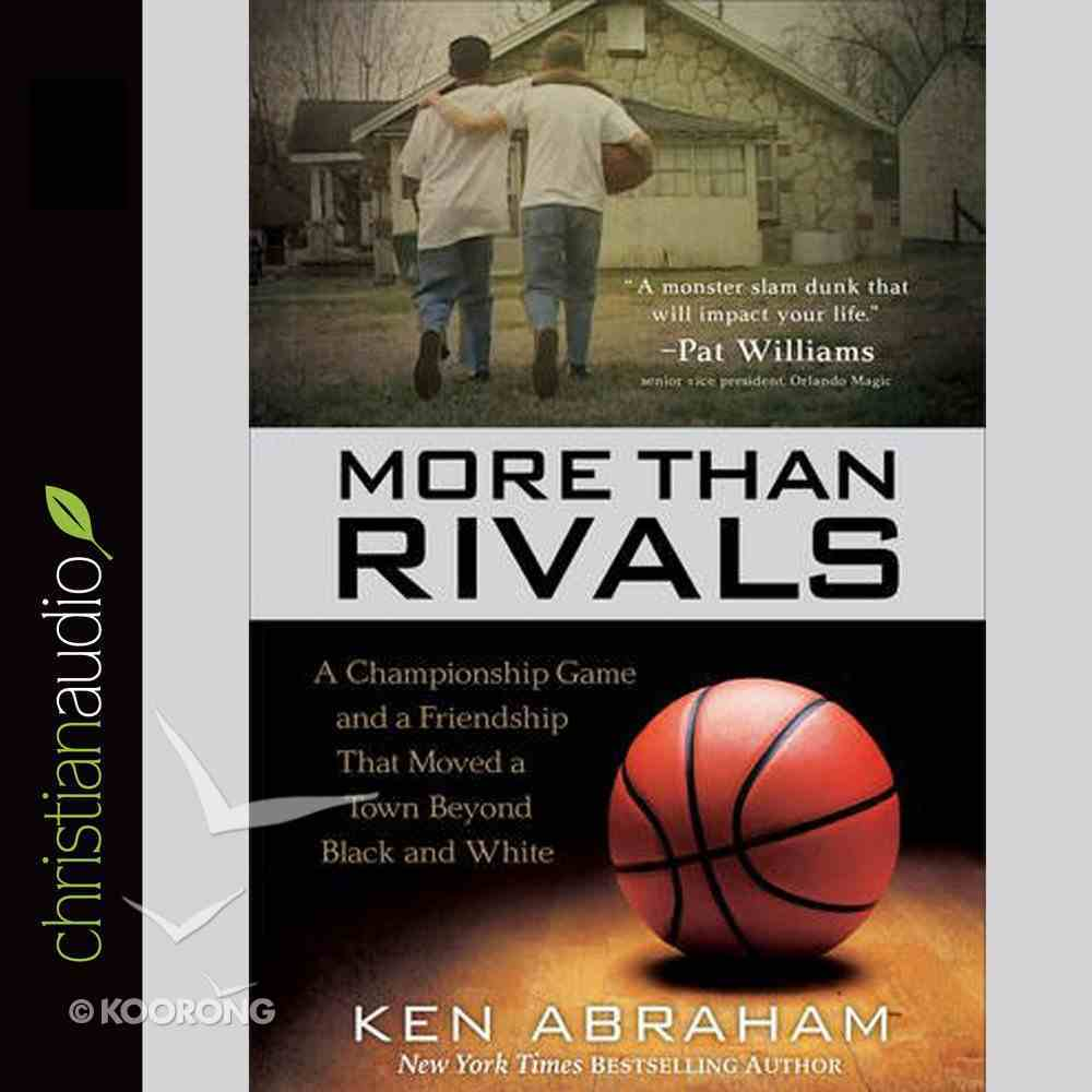 More Than Rivals (Unabridged, 9 Cds) CD