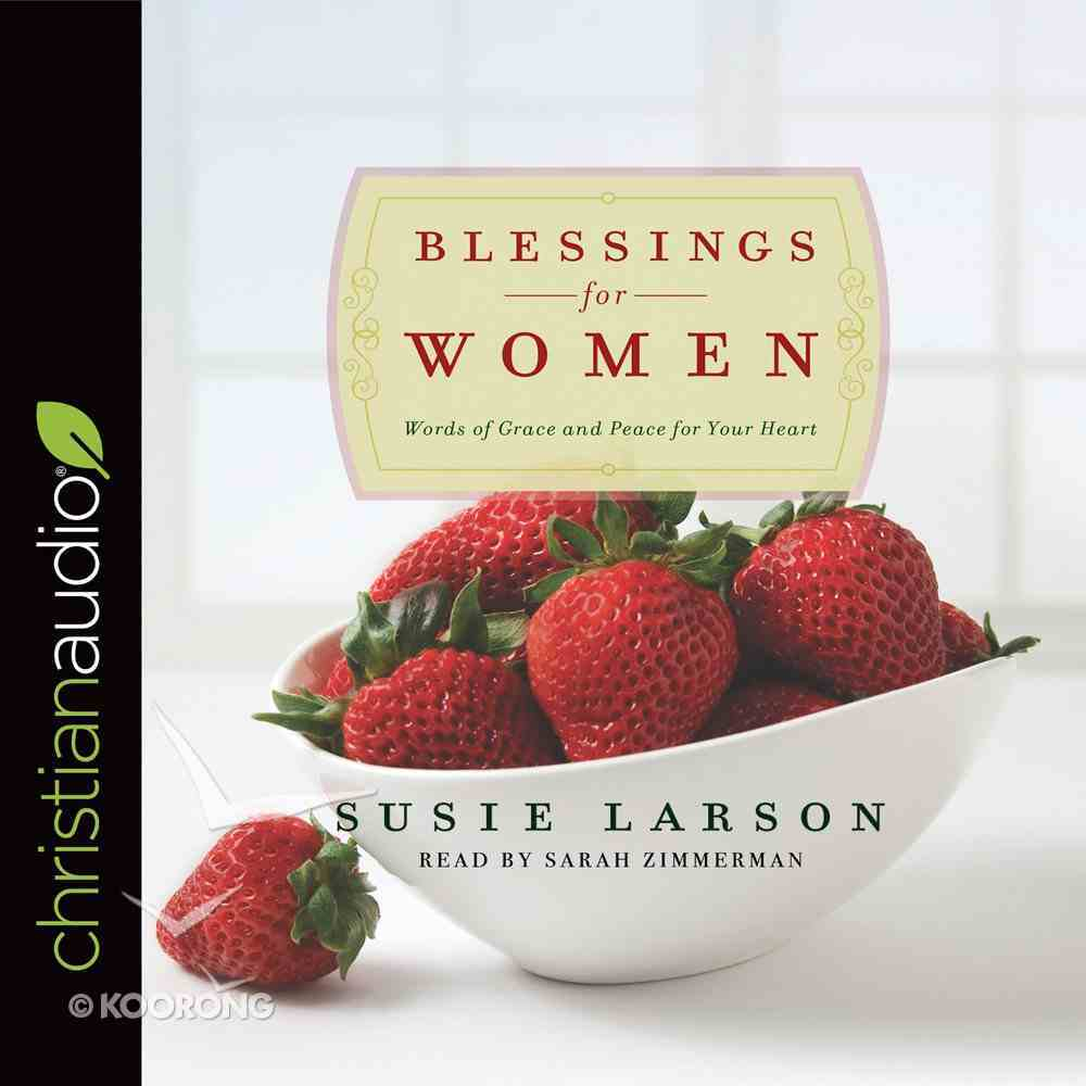 Blessings For Women (Unabridged, 2 Cds) CD
