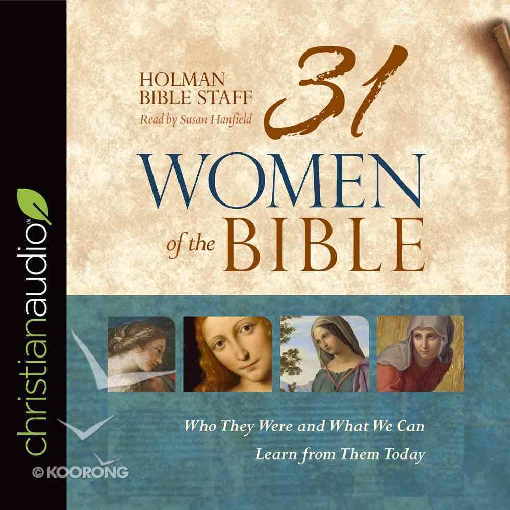 31 Women of the Bible eAudio Book