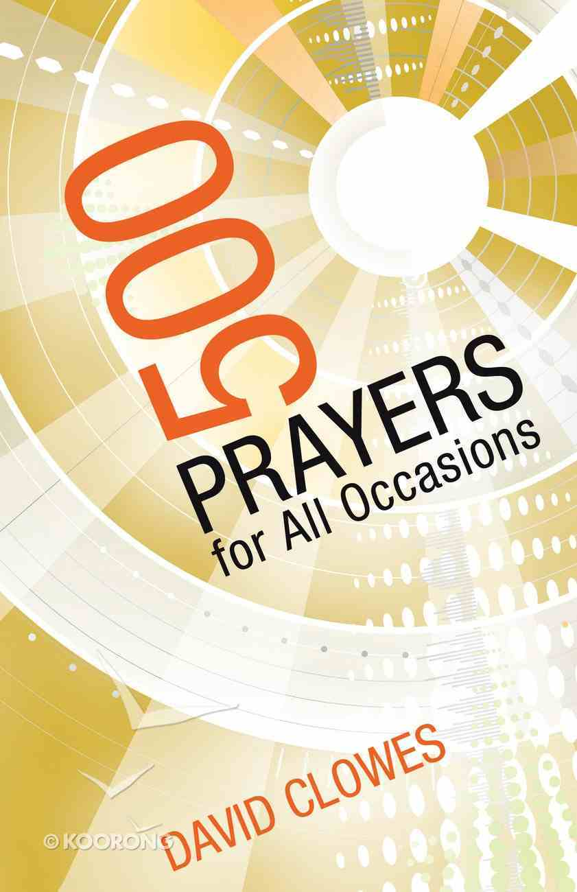500 Prayers For All Occasions Paperback