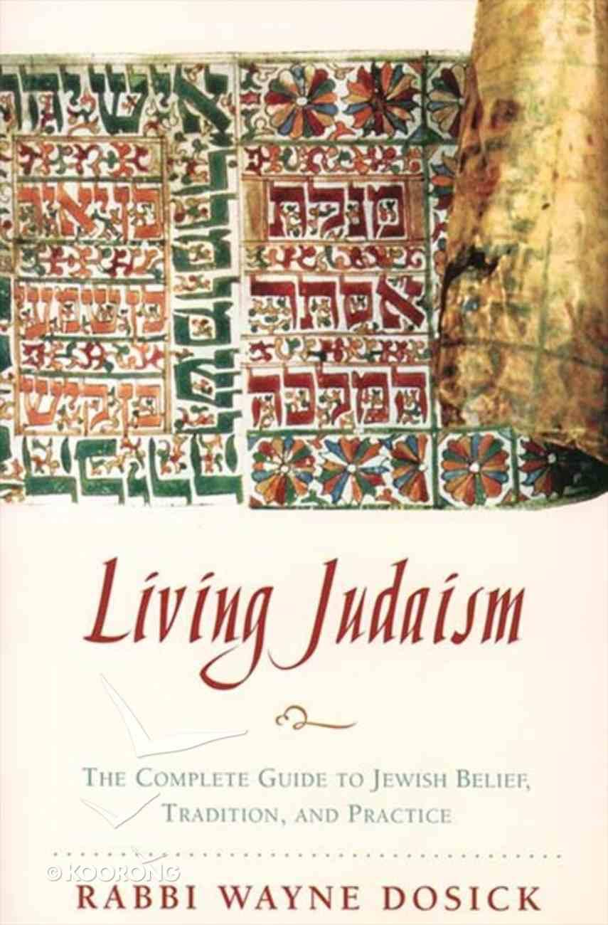 Living Judaism eBook