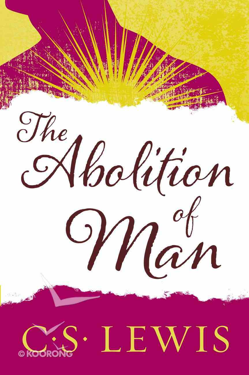 The Abolition of Man eBook