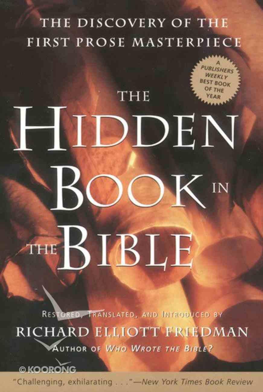 The Hidden Book in the Bible eBook