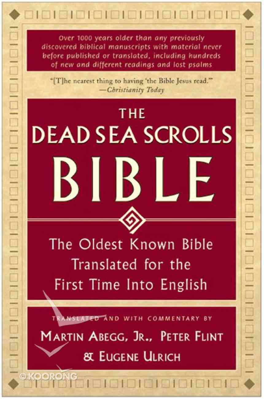 The Dead Sea Scrolls Bible eBook