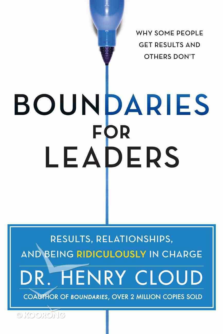 Boundaries For Leaders eBook