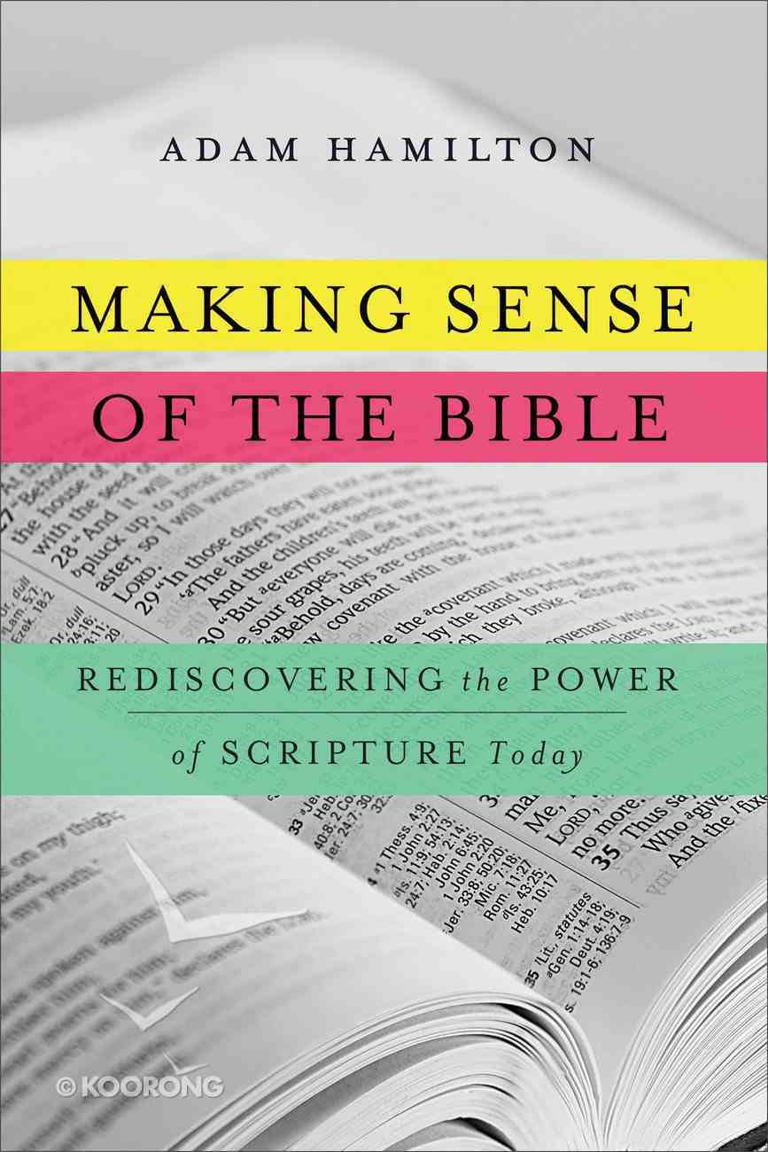 Making Sense of the Bible eBook